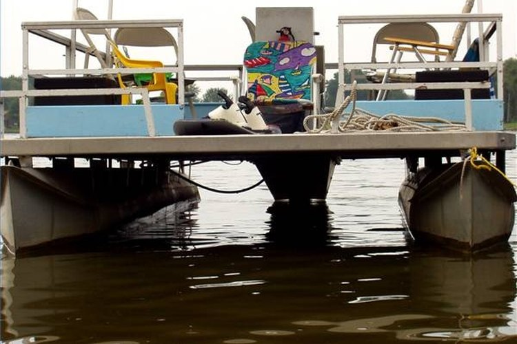 Take your pontoons from dingy to gleaming by spending a little time cleaning.