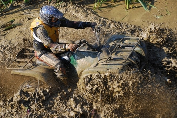 ATVs like the Suzuki Eiger are a fun way to tour trails.