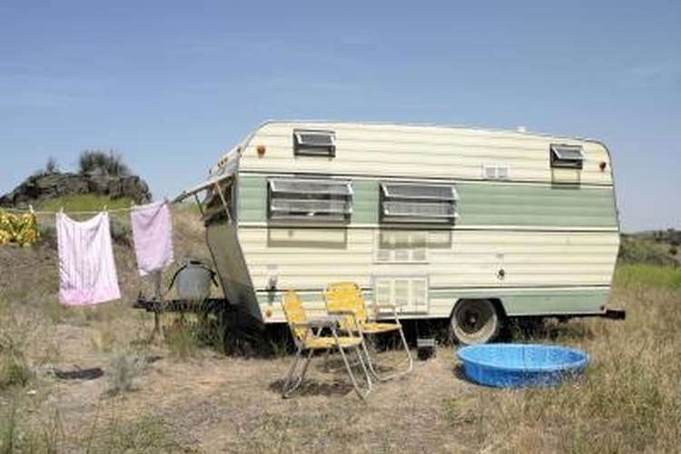 Small travel trailers are light and easy to tow.