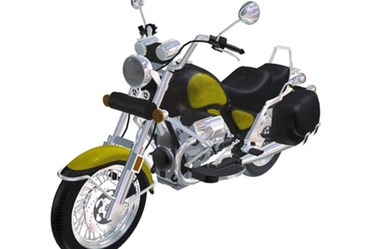 Most newer motorcycles have electronic tachometers with LED readings.