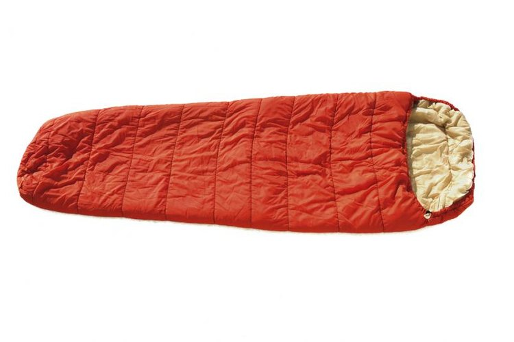 Older sleeping bags can be restored with a careful washing.