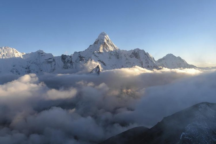 Most climbers attempt scaling Mount Everest during April or May.