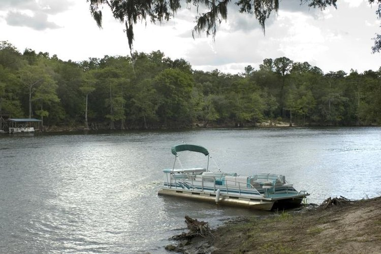 Carry on down the river with your spiffed-up pontoon boat.
