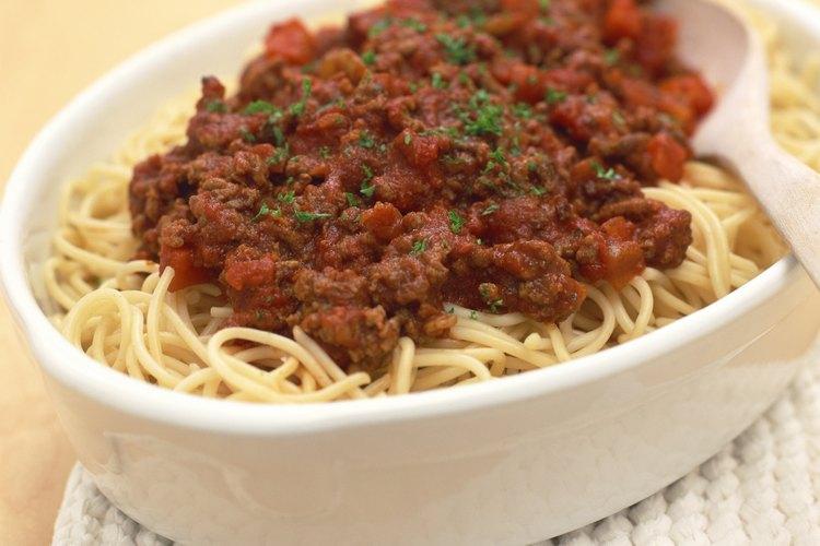 C mo cocinar carne molida para espaguetis muy fitness for Como cocinar espagueti