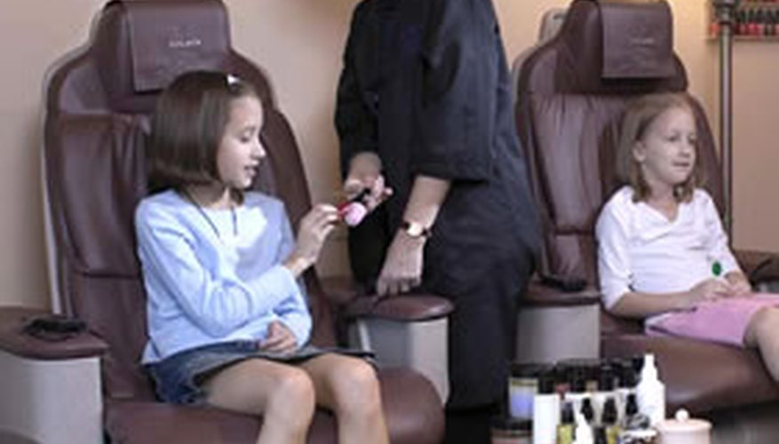 Spa treatments for kids