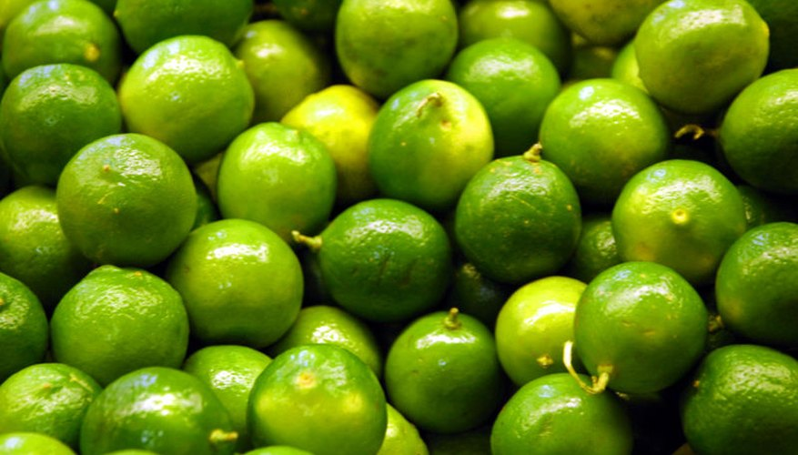 Limes in the market.