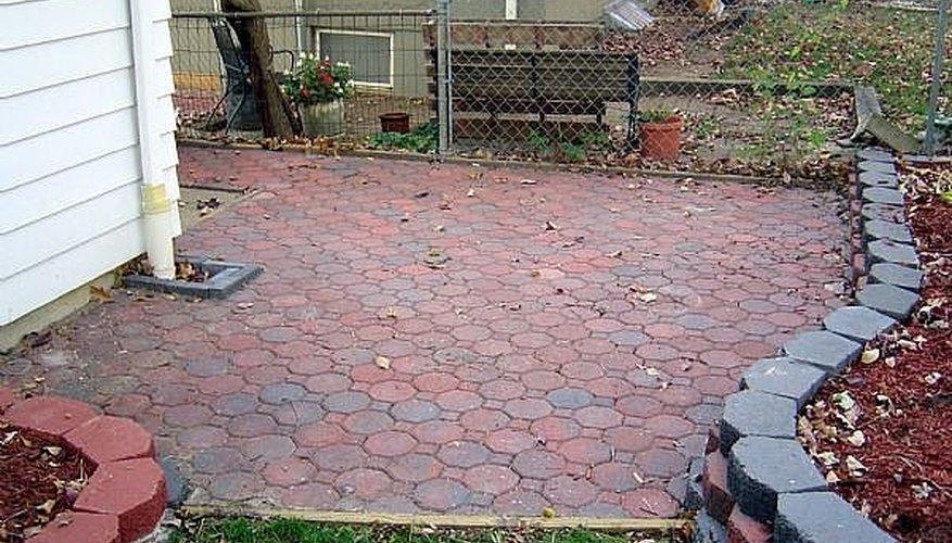 Brick Paved Patio