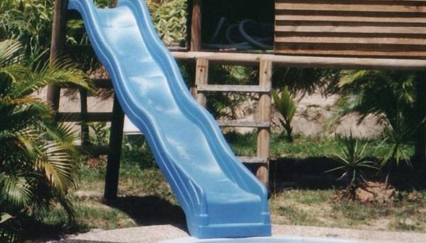 Uninstall an Inground Swimming Pool Slide