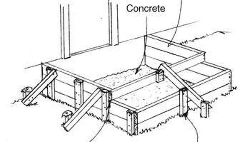 Make a Mold for Concrete Steps