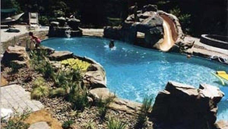 Inground Swimming Pools Cheap Inground Pool Inground Swimming Pools Cost Estimate Kidney Shaped