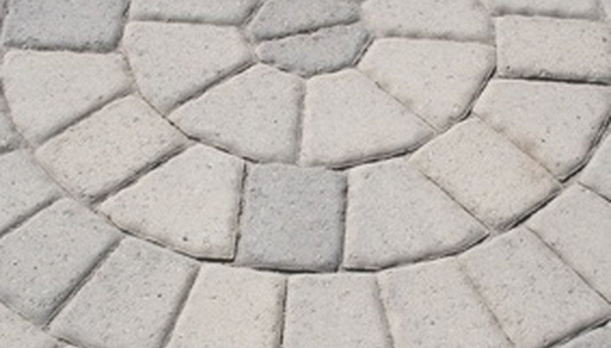 Add new life to stamped concrete with a solvent-based sealer.