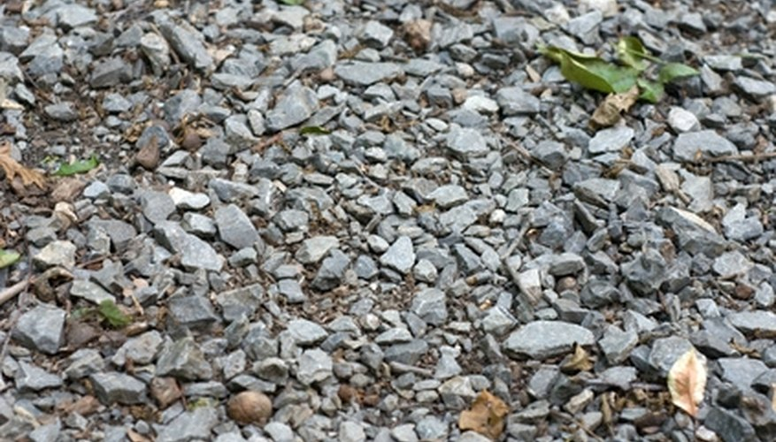 Gravel driveways require maintenance.