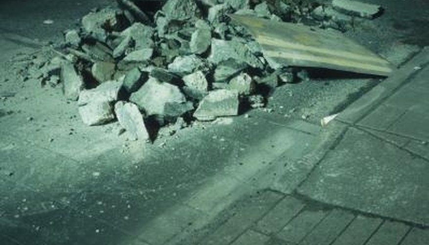 A Jackhammer Will Make Quick Work Of Removing Concrete.