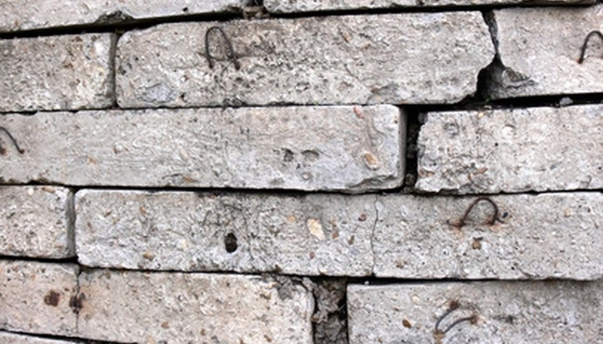 Constructing a retaining wall with broken concrete is cost-effective and long-lasting.