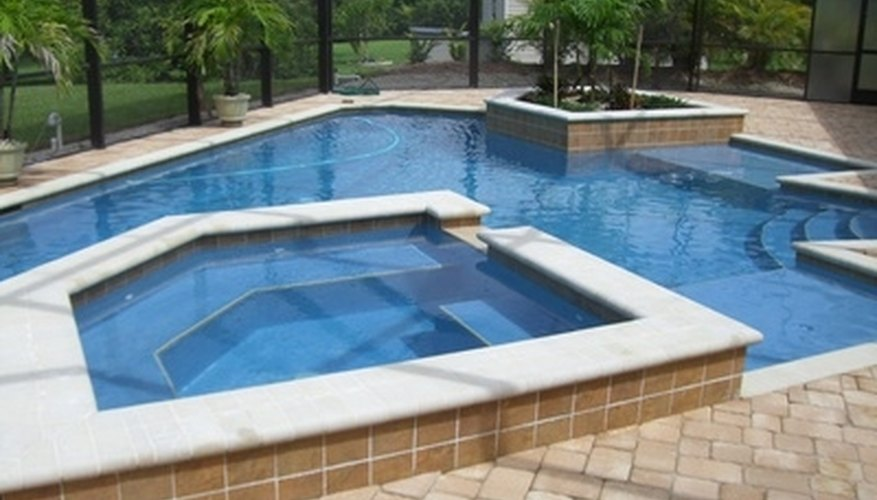 How To Install Pavers Around A Pool Garden Guides