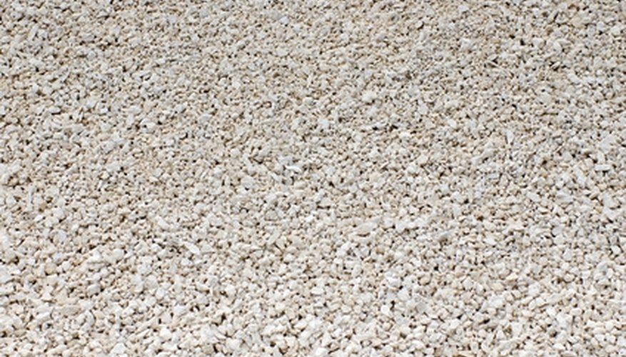 Repair aggregate concrete with an epoxy material.