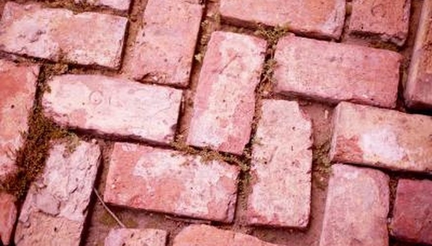 Installing an edging to the patio keeps the pavers from separating over time.