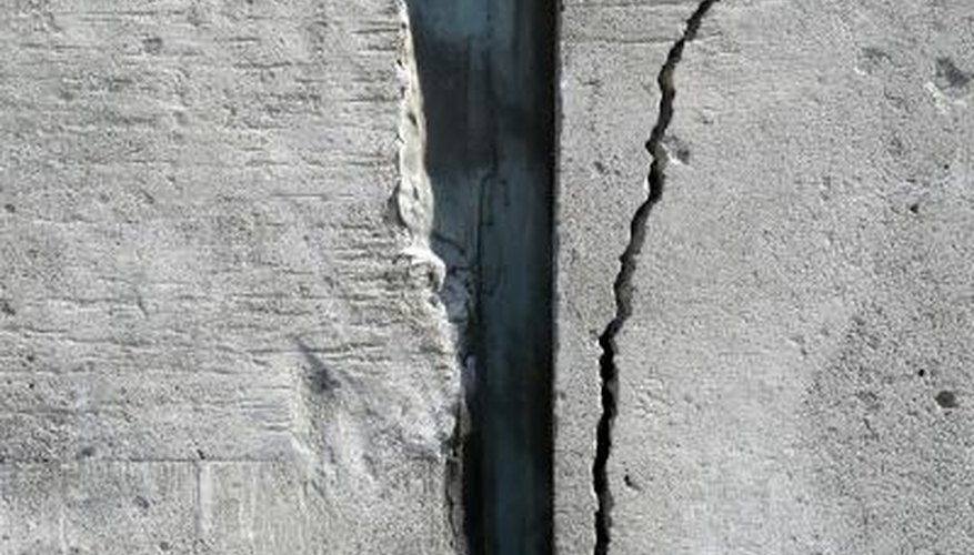 You can resurface a concrete wall that's starting to crack or show signs of wear.