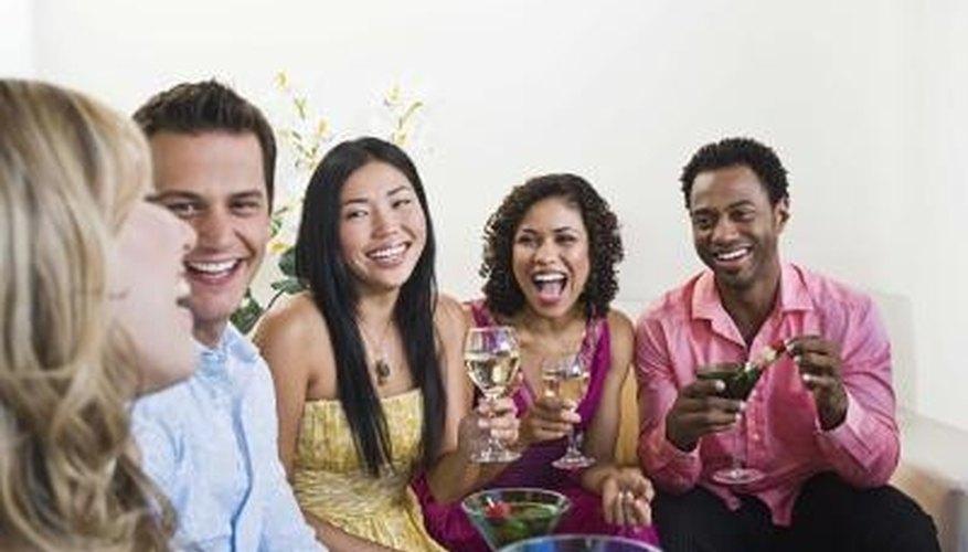 Speed dating fundraiser