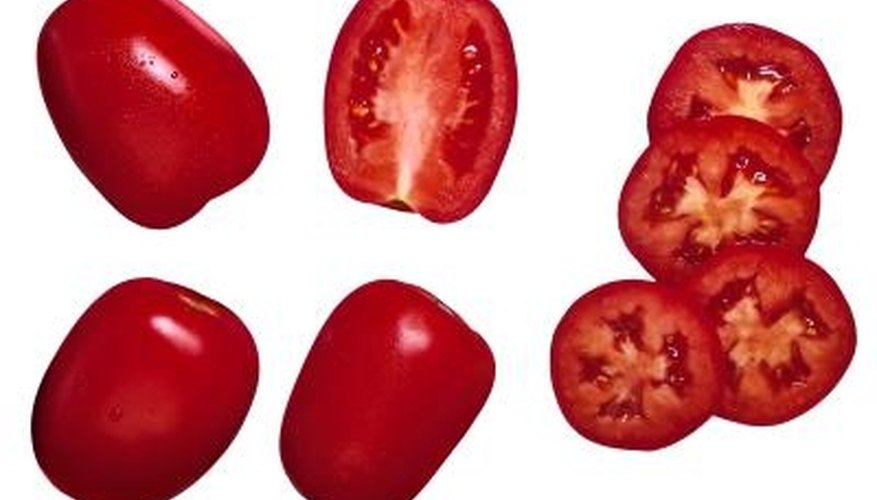 Ripe tomatoes are sweeter, softer and more flavorful than unripe tomatoes.