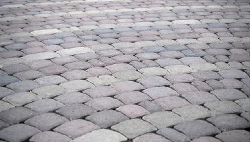 stone pavers are a commonly used material for flooring patios and walkways and require a generally process compared to other