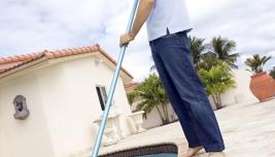 Both manual and automatic cleaning methods may be necessary to keep your pool clean.