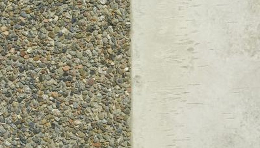 Restore uniformity to cracked pebble pool decks.