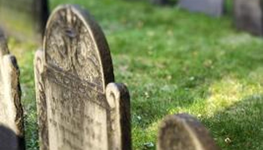 A hard cleaning can be more damaging than leaving the tombstone alone.