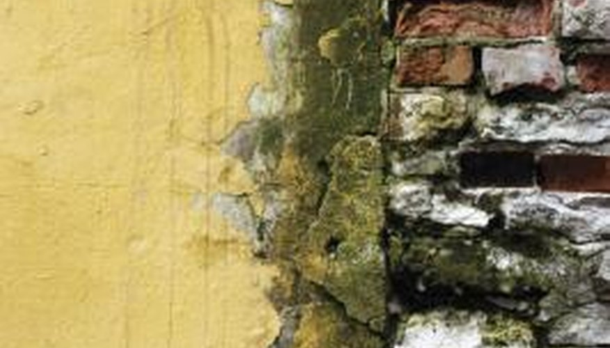 Moisture and underlying construction problems contrubute to efflorescence.
