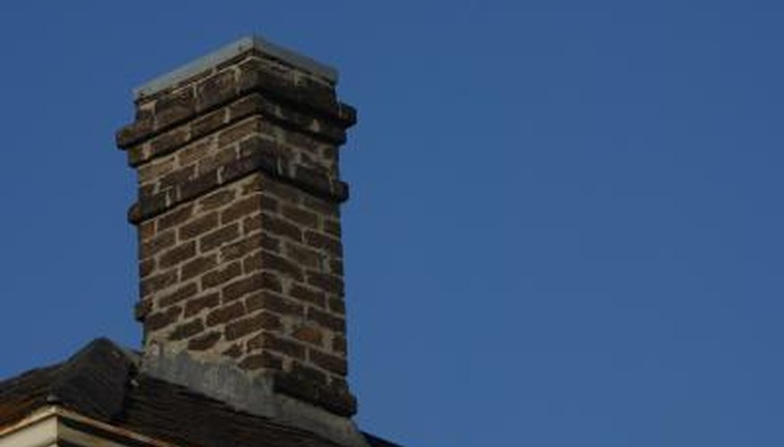 A chimney needs adequate base support to maintain its structure.