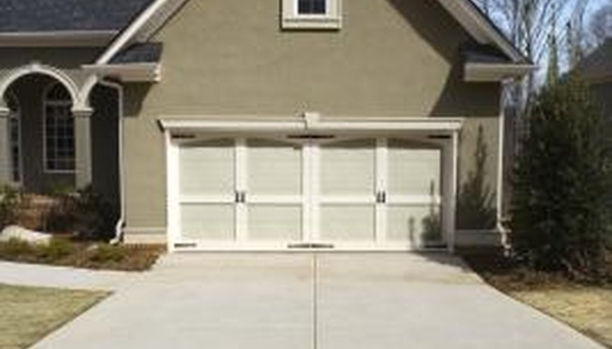 A well-maintained driveway shows no signs of cracks or other water damage.