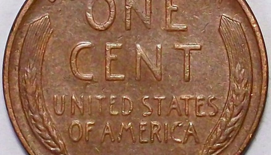 Wheat pennies were the first U.S. coins minted with a person's face on it, President Abraham Lincoln.