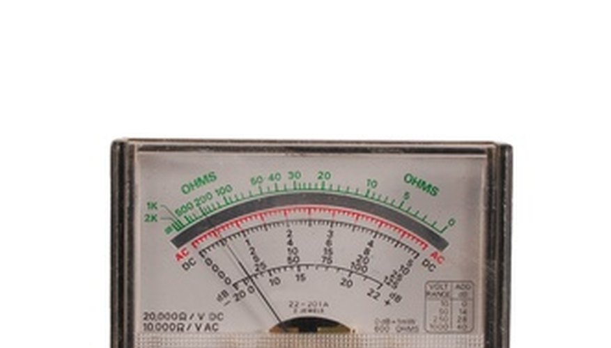 Analog multimeters can be confusing for beginners.