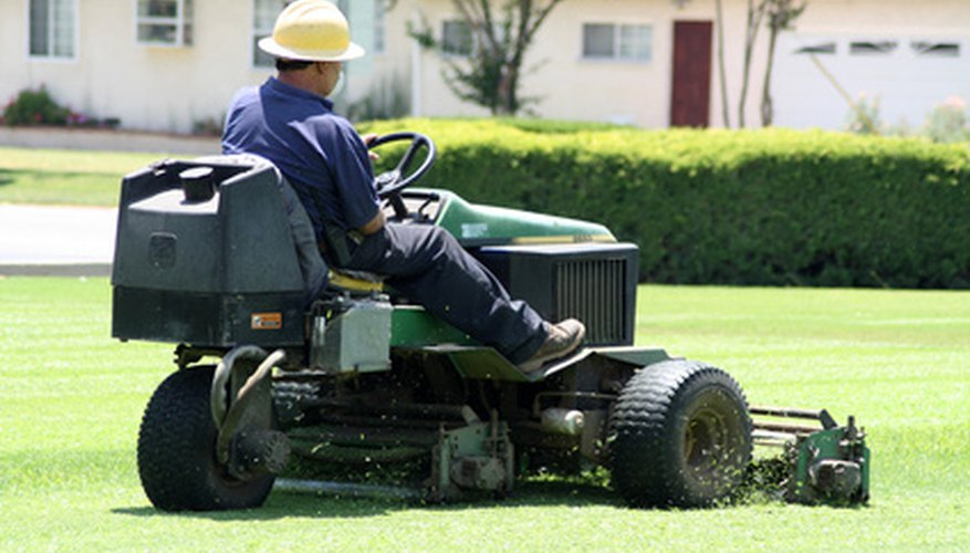 Ensure an even cut lawn with a level mower deck.