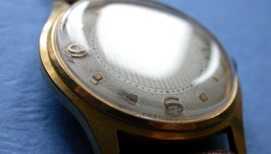 Many wristwatches open from the back, but a few open from the front and require a special tool.