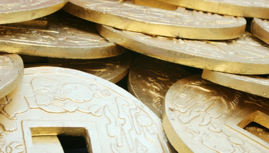 Pristine-looking Chinese coins may not be valuable.
