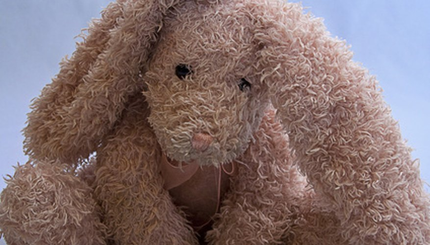 Cleaning an old stuffed animal depends on its condition