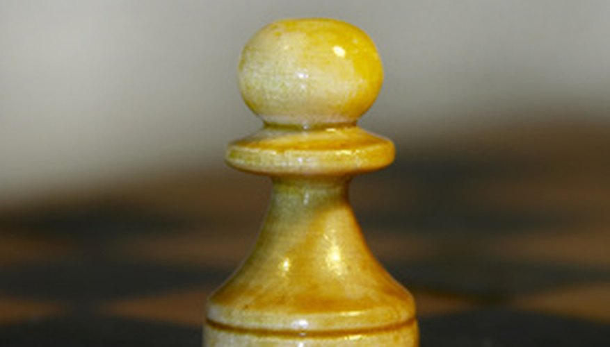 The chess pawn can be
