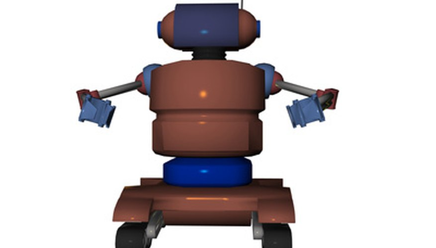 Create a robot for your science fair project.