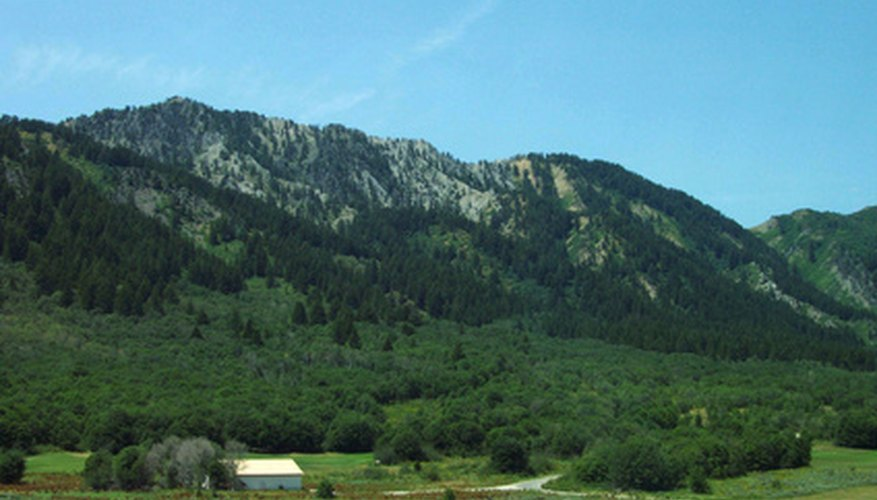 The hills and mountains of Idaho are a rich source of minerals and ore which have been widely mined.