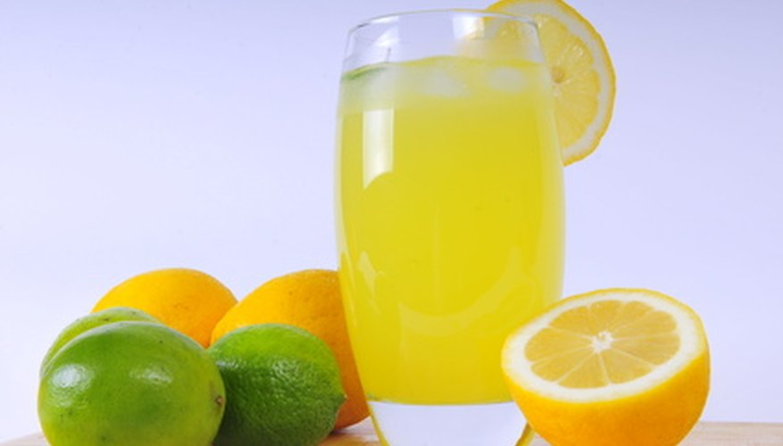 Both lime and lemon create delicious beverages that require some sugar.