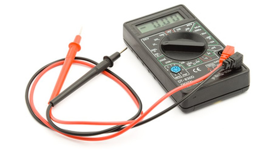 Use a multimeter to measure resistance and current.