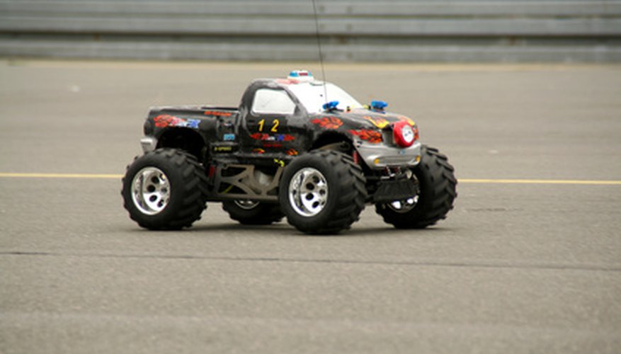 An RC car