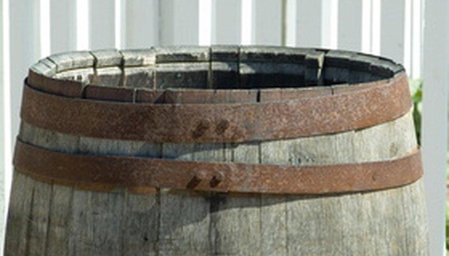 how to cut a wine barrel