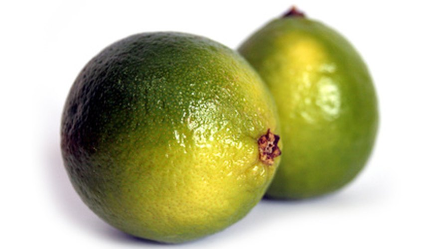 Limes are an ingredient in Liquid Fence.