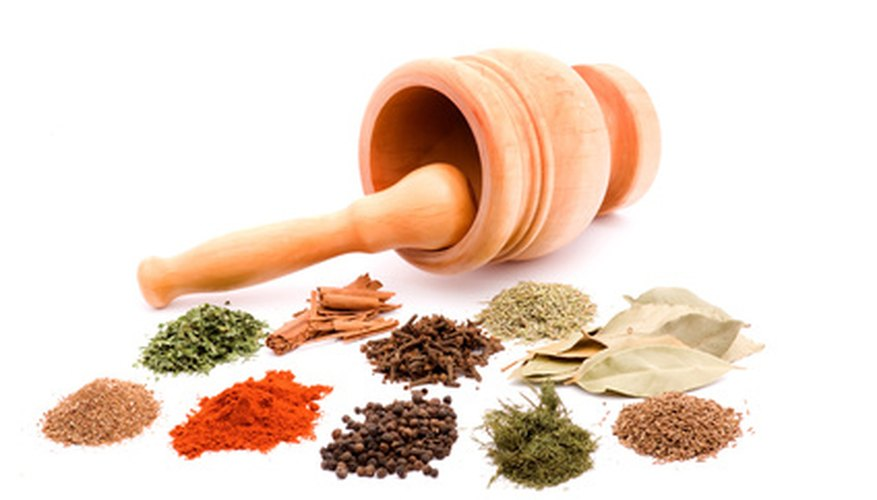 Select herbs that would be most useful for your spiritual workings.