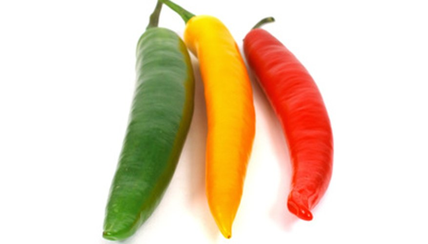 Banana peppers may be sweet or hot.