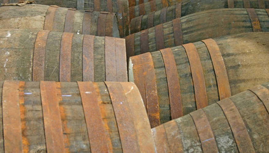 how to make a whiskey barrel