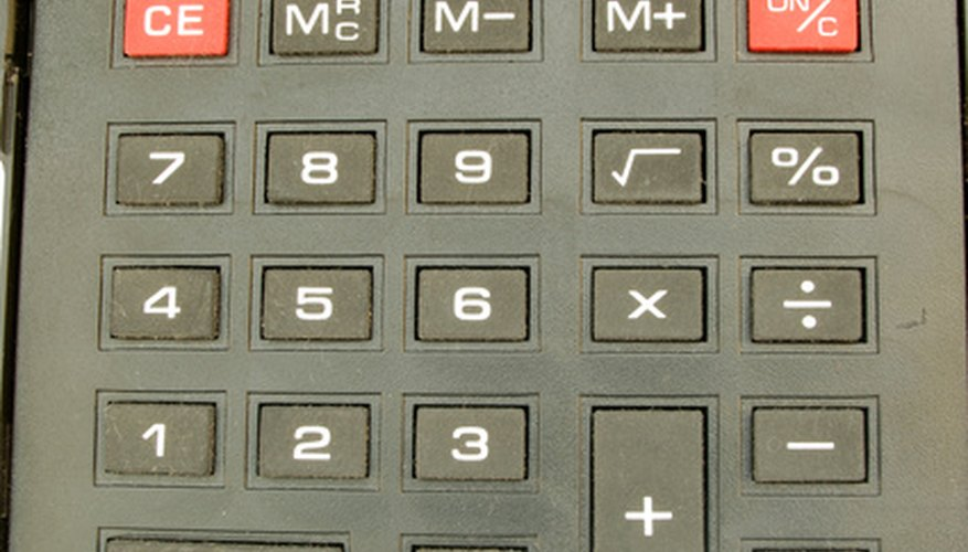 Use the percentage key on a calculator to figure percents