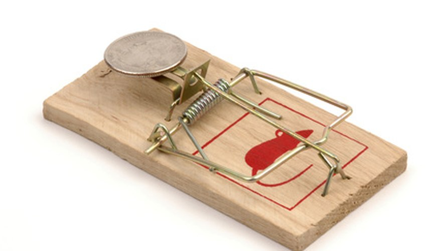 The mousetrap is the motive power behind the mousetrap car